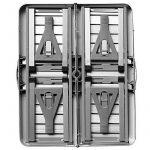 Table de pique-nique portable - Aluminium avec fonction malette - Emplacement pour parasol de la marque Deuba image 1 produit