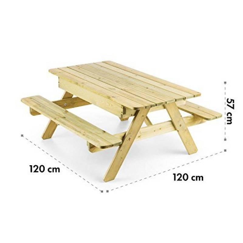 Mobilier De Jardin Tables Gartenpirat Table De Pique Nique Pour