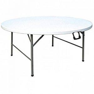 Table ronde plastique pliante ; notre top 11 TOP 0 image 0 produit
