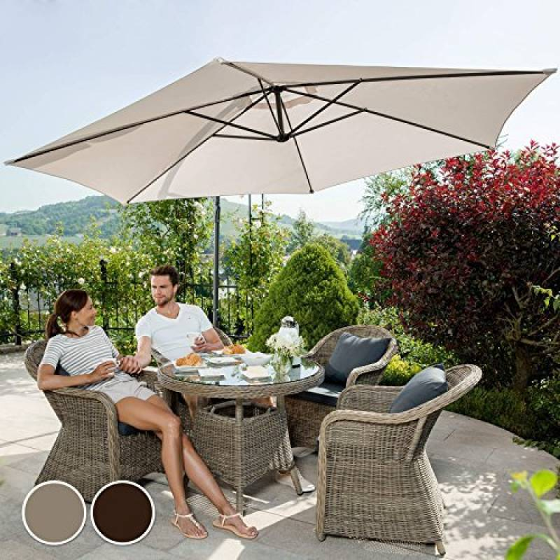Ensemble table et chaise de jardin en r sine pour 2018 - Coussin impermeable pour salon de jardin ...