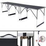 TecTake Table de travail pliante en aluminium pour papier peint 300x 60cm Table caravane camping pique-nique de la marque TecTake image 3 produit