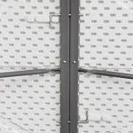 Todeco - Table Pliante Transportable, Table en Plastique Robuste - Matériau: HDPE - Charge maximale: 100 kg - 183 x 76 cm, Blanc, Pliable en deux de la marque Todeco image 3 produit
