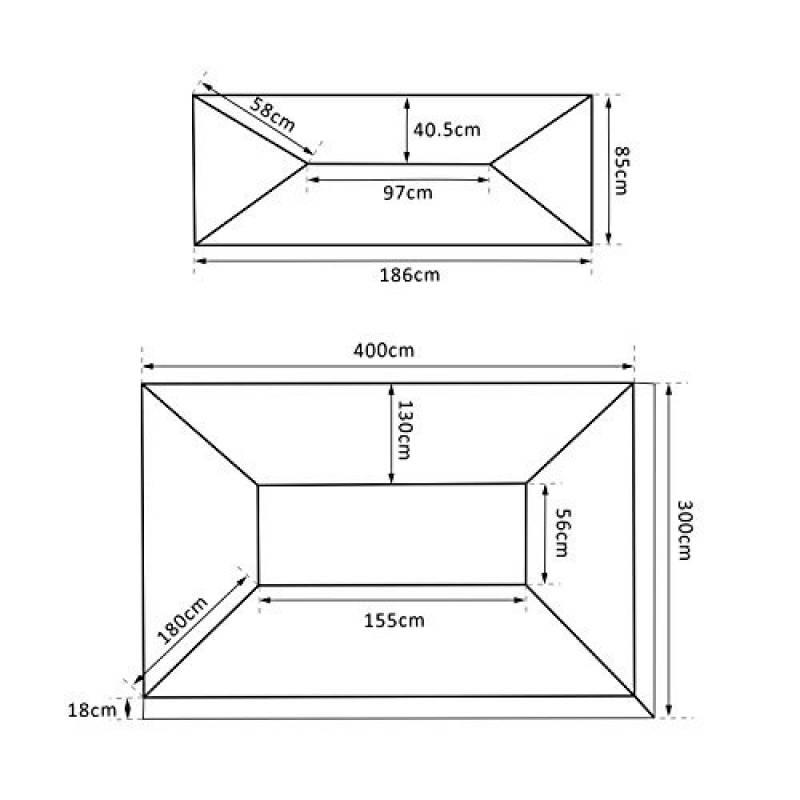 toile tonnelle 3x4 faites des affaires pour 2018. Black Bedroom Furniture Sets. Home Design Ideas