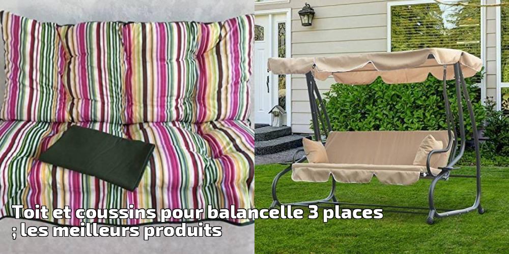 toit et coussins pour balancelle 3 places les meilleurs. Black Bedroom Furniture Sets. Home Design Ideas