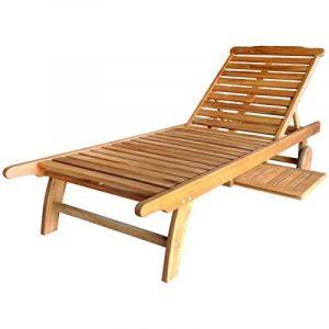 Transat jardin bois ; comment acheter les meilleurs produits TOP 1 image 0 produit