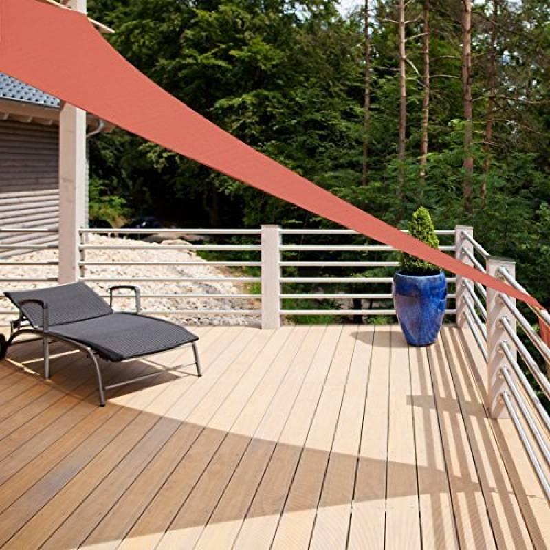 auvent triangulaire toile les meilleurs produits pour 2018 meilleur jardin. Black Bedroom Furniture Sets. Home Design Ideas