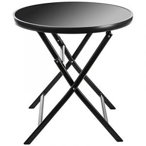 Ultranatura Table de Terasse Pliante en Aluminium, Gamme Korfu Plus, Anthracite de la marque Ultranatura image 0 produit