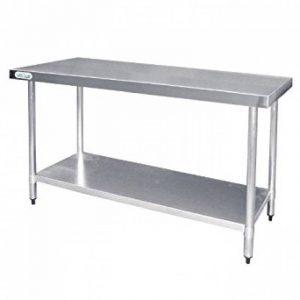 Vogue Table de préparation en acier inoxydable Pour cuisine professionnelle 1200mm de la marque Vogue image 0 produit