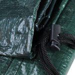 WOLTU GZ1193gn Housse de protection pour mobilier de jardin Imperméable,Housse de protection résistante aux déchirures imperméable pour le banc de jardin 135x65x88 cm, Vert de la marque Woltu image 5 produit