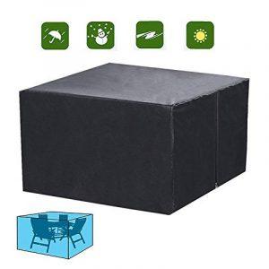 Xiliy Couverture de Haute Qualité pour Meubles de Jardin pour Chaises et Couverture Étanche(123 x 123 x 74cm) de la marque Xiliy image 0 produit