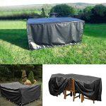 Xiliy Meubles Haute Qualite Table Couverture Oxford Polyester Housse de Protection pour Rectangulaire Meuble de Jardin(242 x 162 x 100 cm) de la marque Xiliy image 4 produit