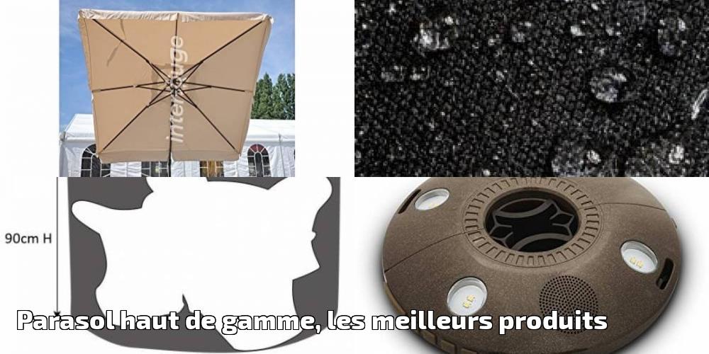 parasol haut de gamme les meilleurs produits pour 2018 meilleur jardin. Black Bedroom Furniture Sets. Home Design Ideas