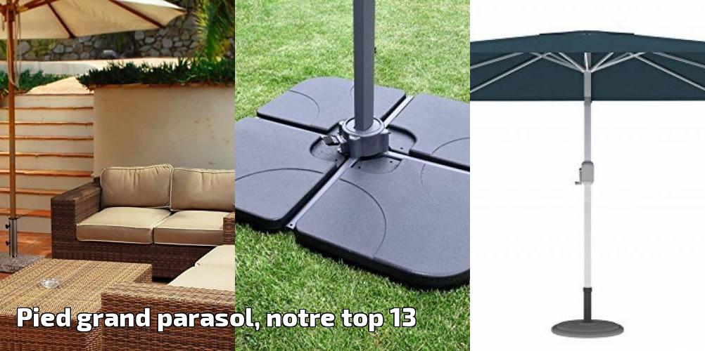 pied grand parasol notre top 13 pour 2018 meilleur jardin. Black Bedroom Furniture Sets. Home Design Ideas