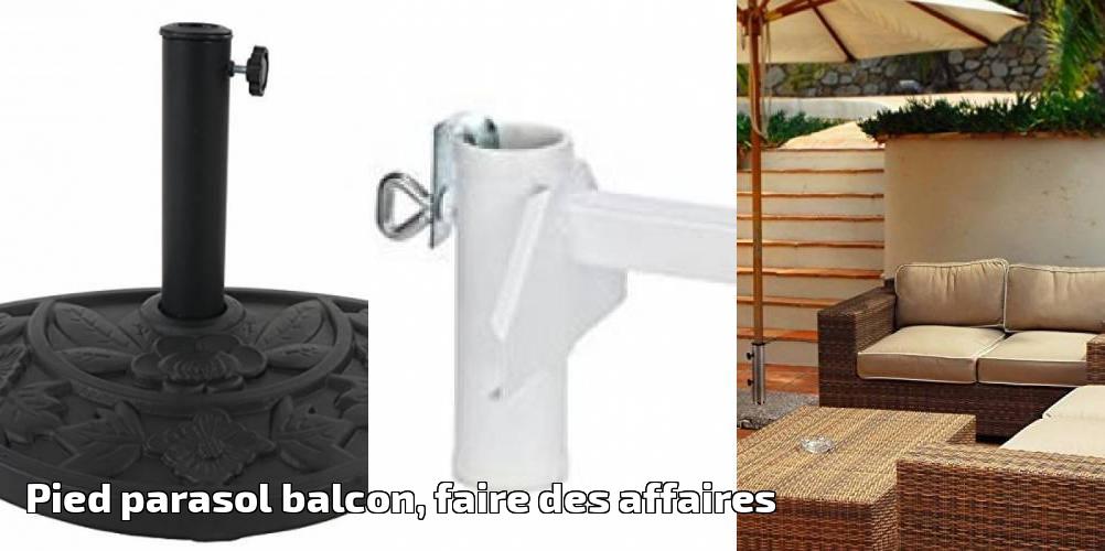 pied parasol balcon faire des affaires pour 2018 meilleur jardin. Black Bedroom Furniture Sets. Home Design Ideas