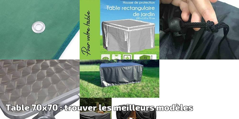 WOLTU GZ1162tp Housse de Protection pour Table de Jardin ...