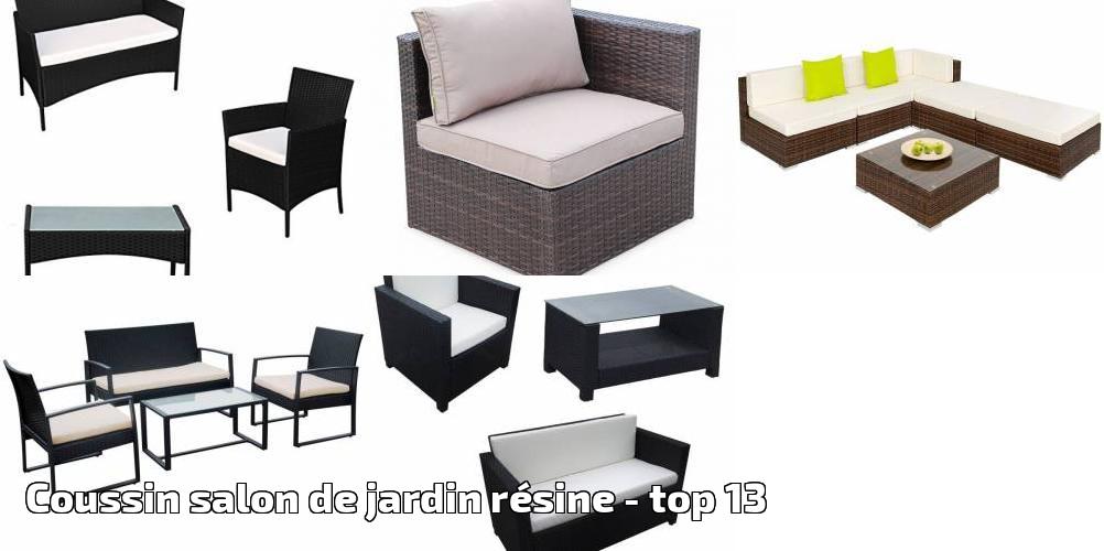 Coussin salon de jardin résine pour 2019 - top 13 - Meilleur ...