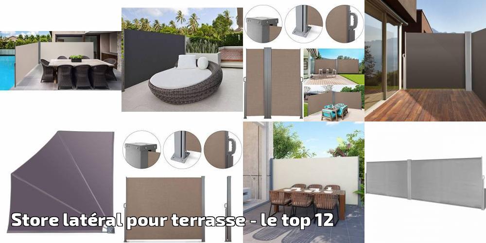 Audacieuse Store latéral pour terrasse pour 2019 - le top 12 - Meilleur Jardin DQ-78