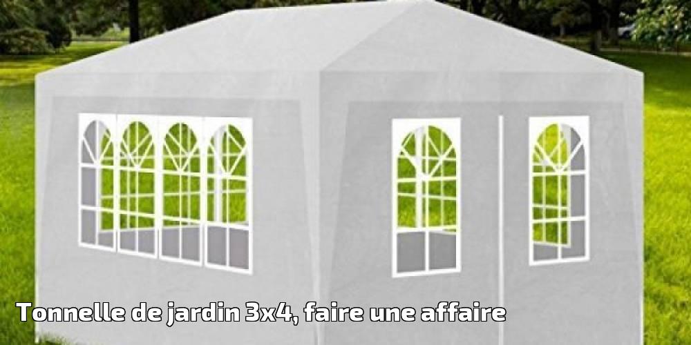 Tonnelle De Jardin 3x4 Faire Une Affaire Pour 2018 Meilleur Jardin