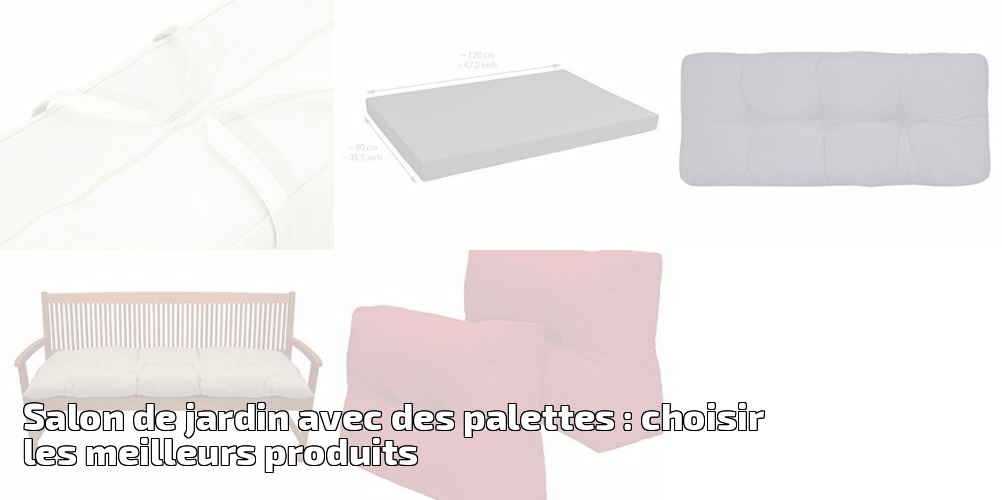salon de jardin avec des palettes choisir les meilleurs produits pour 2018 meilleur jardin. Black Bedroom Furniture Sets. Home Design Ideas