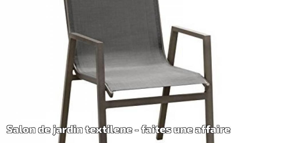 Salon de jardin textilene pour 2019 - faites une affaire - Meilleur ...